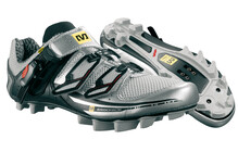 Mavic Chasm Men metallic silver/bright red/black